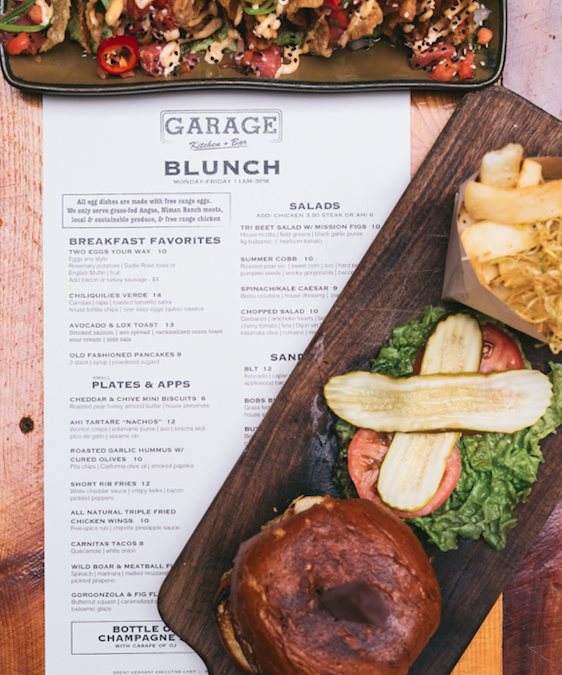 7 Reasons Why You Need to try Blunch at Garage Kitchen + Bar
